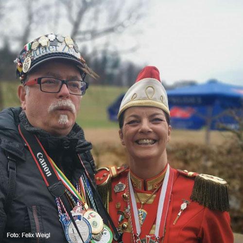 Anja Trapp und Ralph Leupolt